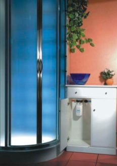 DAFI Inline Water Heating Unit - Under Basin Wall Mounting for Shower and Hand Basin