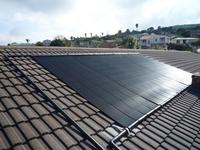 Heliocol Solar Pool Heating System - 5 Panels on Sloped Roof